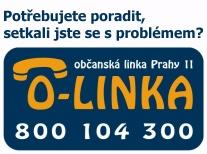 Občanská linka Prahy 11 - 800 104 300